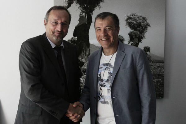 Με τον Jean-Michel Chantepy